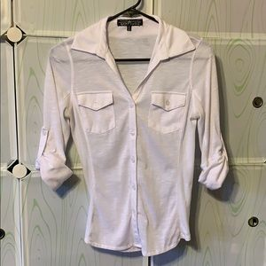 Almost Famous White dress shirt